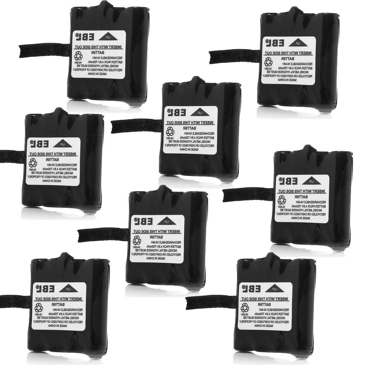 2x Two-Way Radio Batteries for Midland BATT6R BATT-6R LXT-34