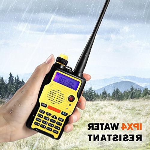 Two Watt Battery FCC VHF 136-174MHz 400-520MHz Long Resistant Talkie Kit