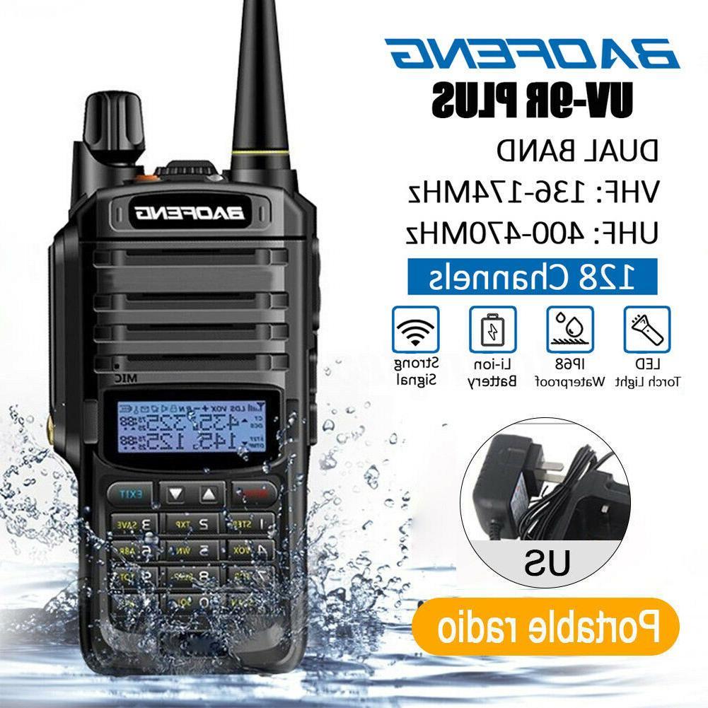 us baofeng uv 9r plus walkie talkie
