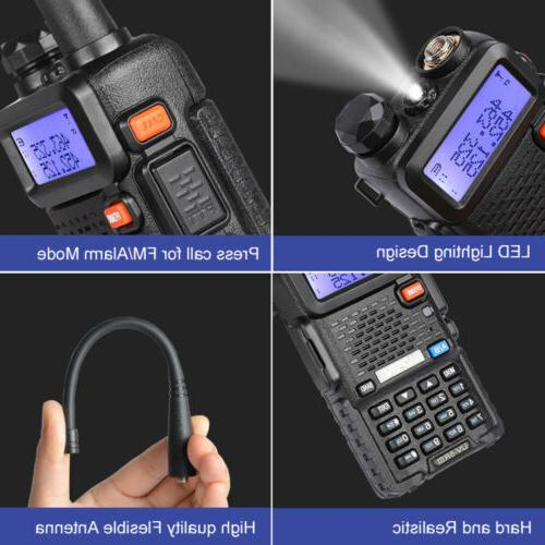 BAOFENG Ⅲ Two Radio 136-174/200-260/400-520MHz Walkie