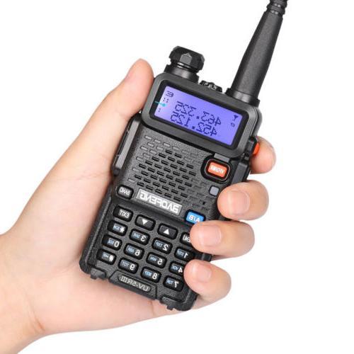 BAOFENG Ⅲ Tri-Band Two Way Radio Walkie Talkies