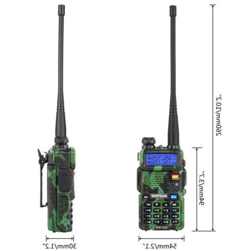 Baofeng UV-5R Two Ham Radio Band Talkie Earphone
