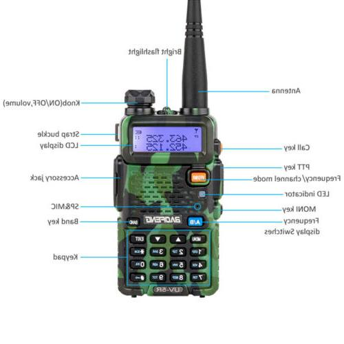 Baofeng UV-5R Two Way Ham Radio Band Walkie