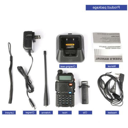 Baofeng UV-5R Dual Two Ham Radio Walkie