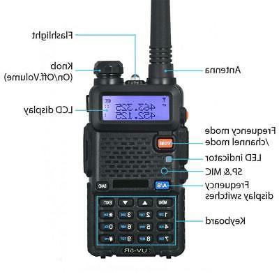 Baofeng UV-5R UHF Dual Band Way Ham Radio