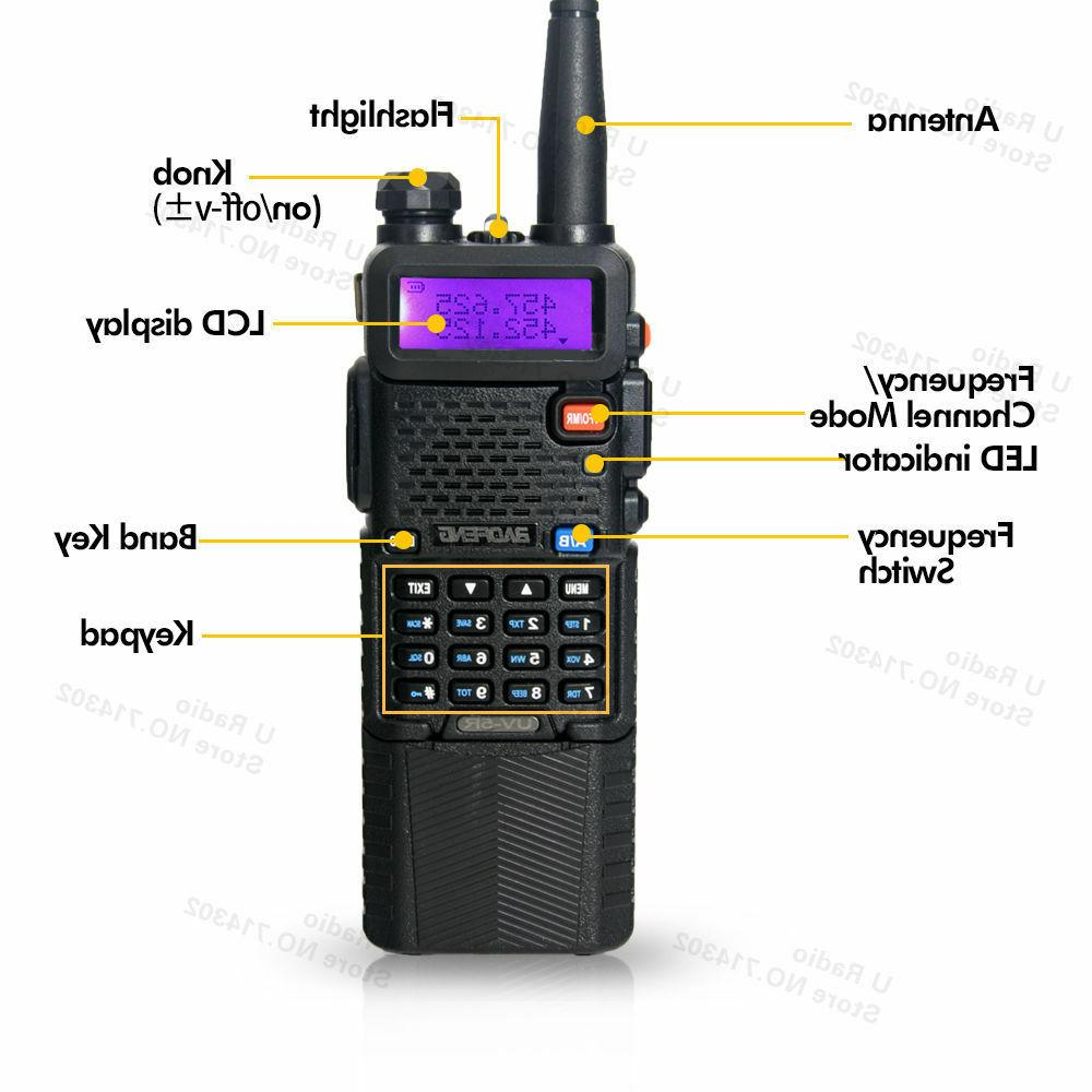 Baofeng Two-way Dual Band VHF/UHF Long Stock