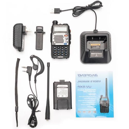 BAOFENG UV-5XP 8W VHF/UHF Dual Ham Radio Talkies