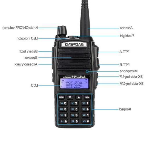 Baofeng UV-82 Radio UHF VHF Dual-Band Walkie Talkie Ham