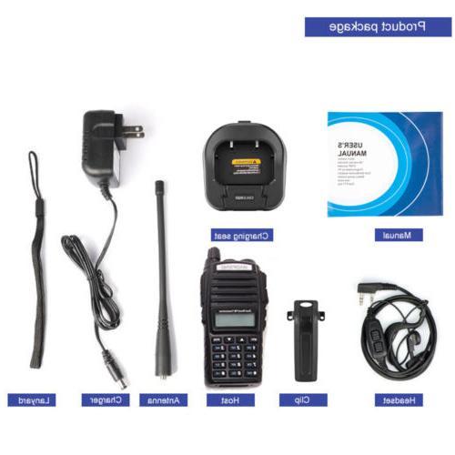 Baofeng UV-82 Two Radio UHF VHF Walkie Transceiver