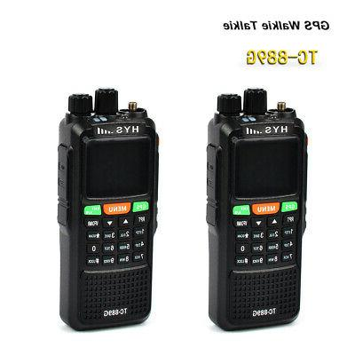 HYS 140-150/440-450MHz VHF UHF Dual Band Mobile Two Way Radi