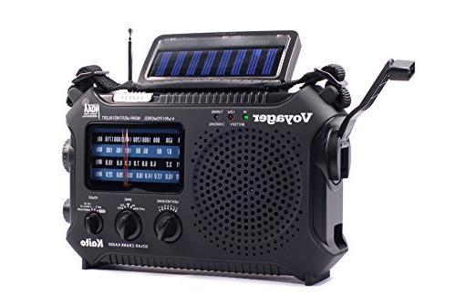 voyager solar dynamo weather radio