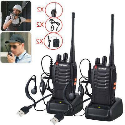 walkie talkie 2 way radio hand held