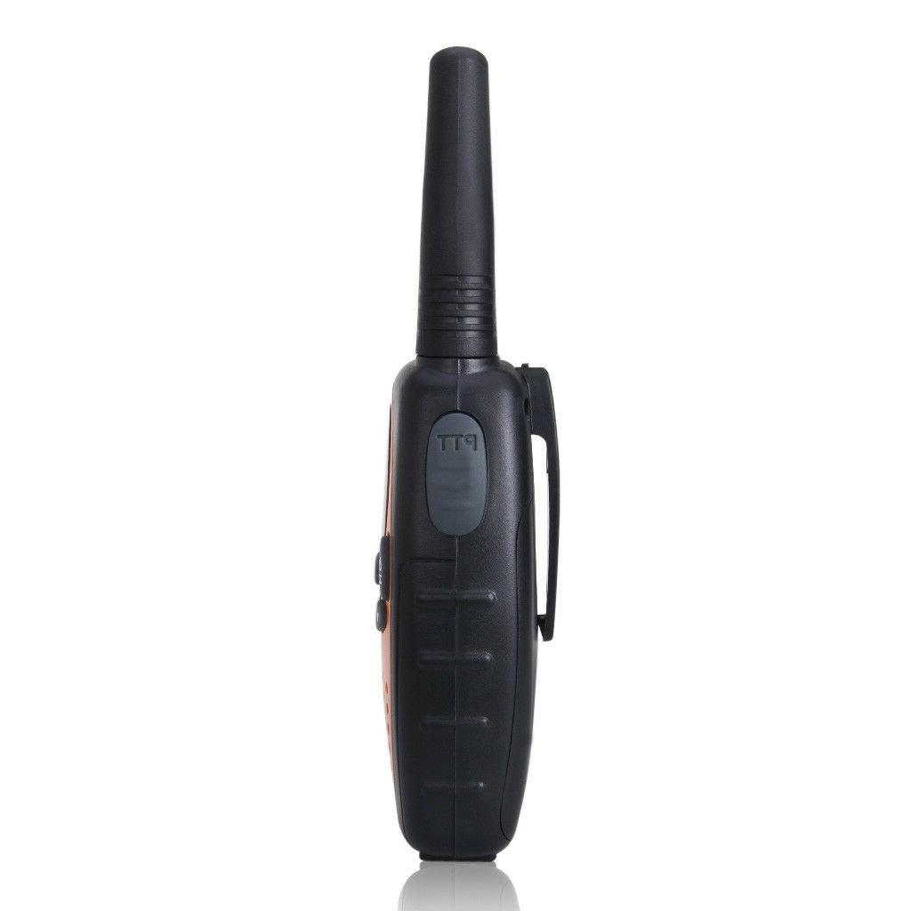 FLOUREON Walkie Pack up to 5KM Two Way 22 CH UHF