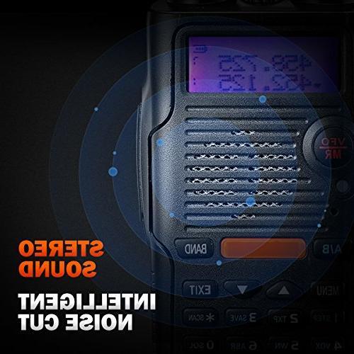 Two Watt Rechargeable Large Battery FCC Dual 400-520MHz Range Water Talkie Earpiece Full Kit