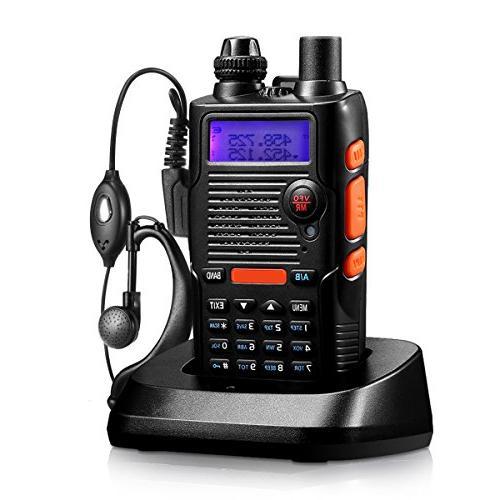 walkie talkie fcc dual band