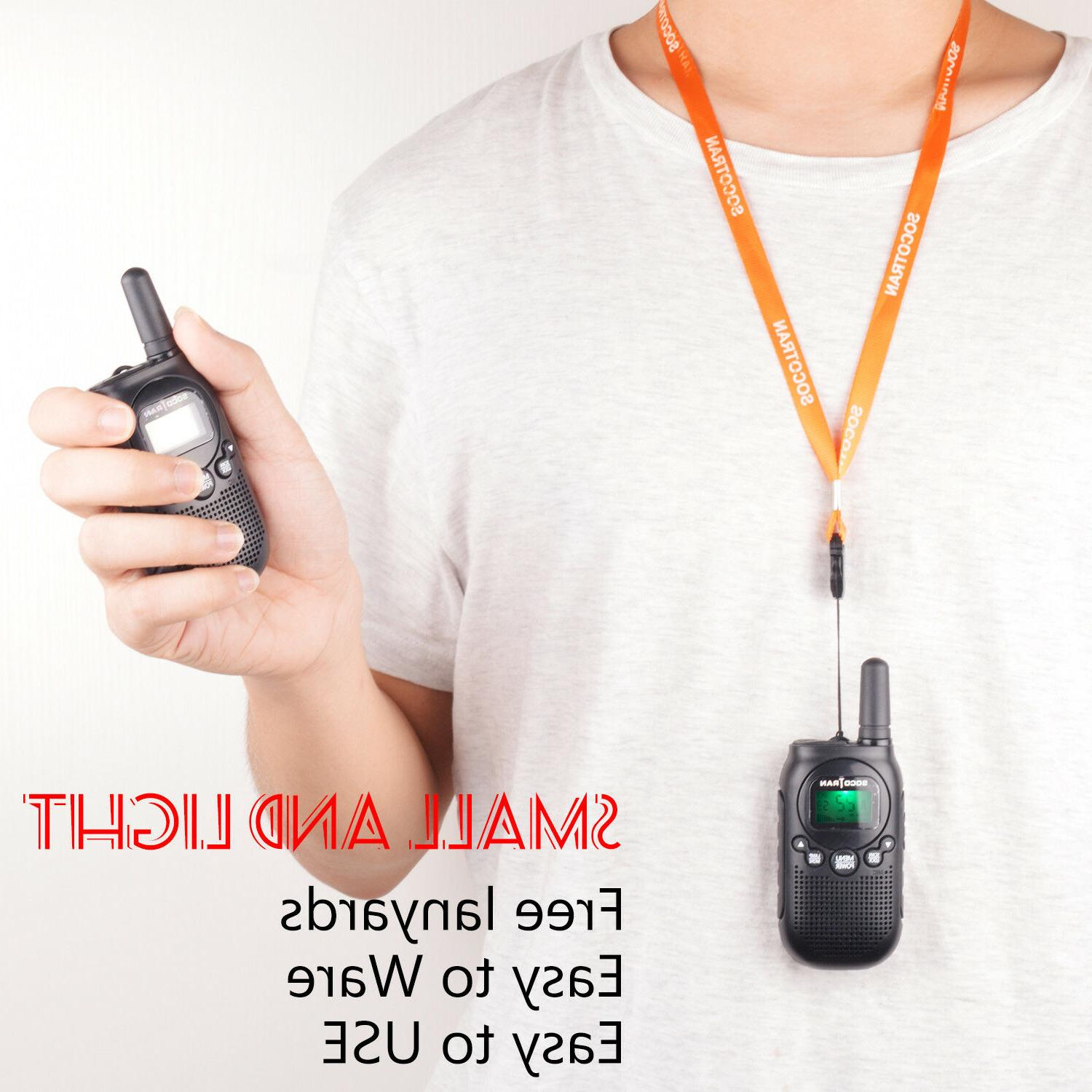 Walkie Talkie for Long Rechargeable Battery 22CH
