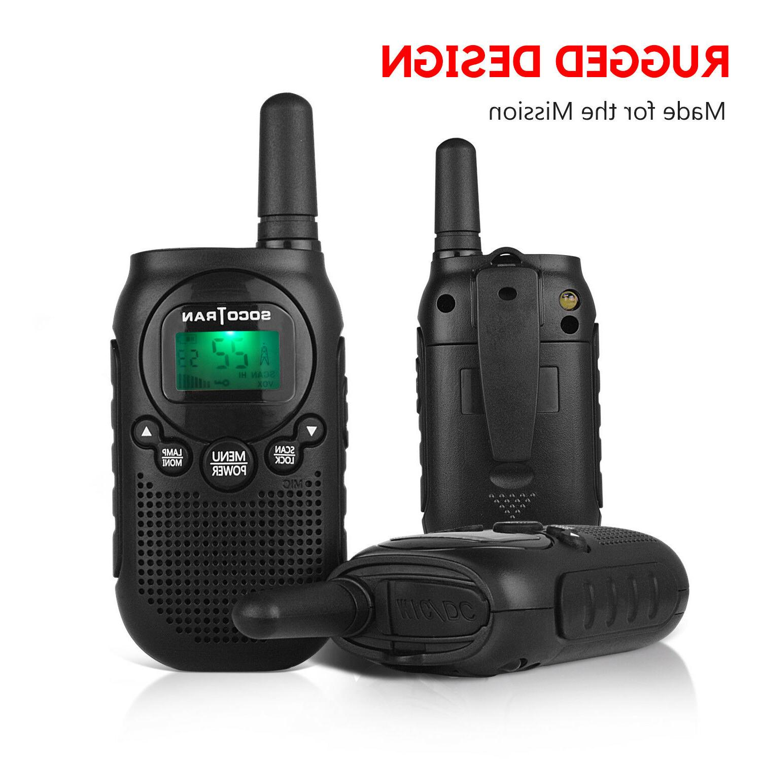 Walkie Talkie for Long Rechargeable 22CH 2Pack