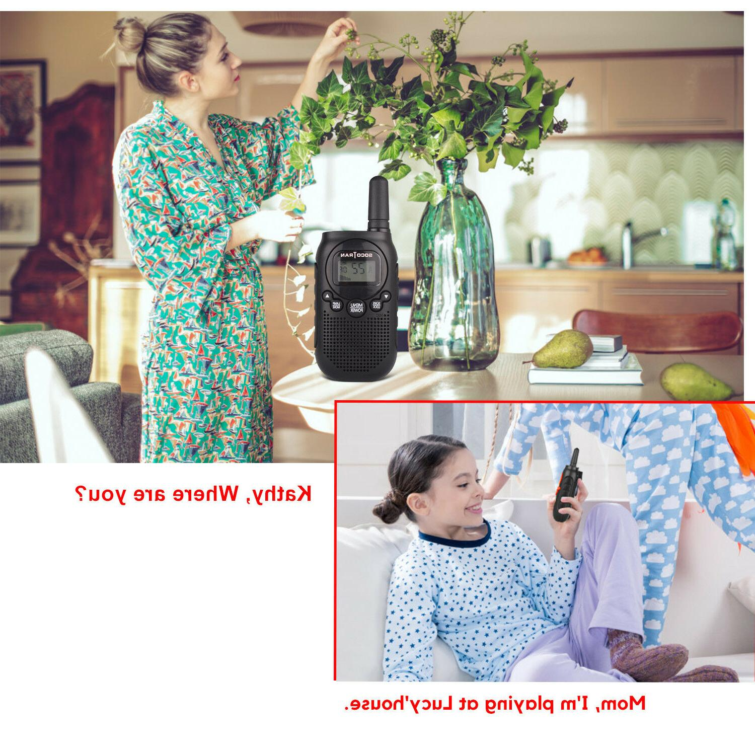 Walkie Talkie for Kids Long Rechargeable 22CH