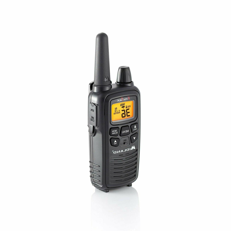 Midland Talkie Se 2 Way Radio Long Range Two Portable Scan New