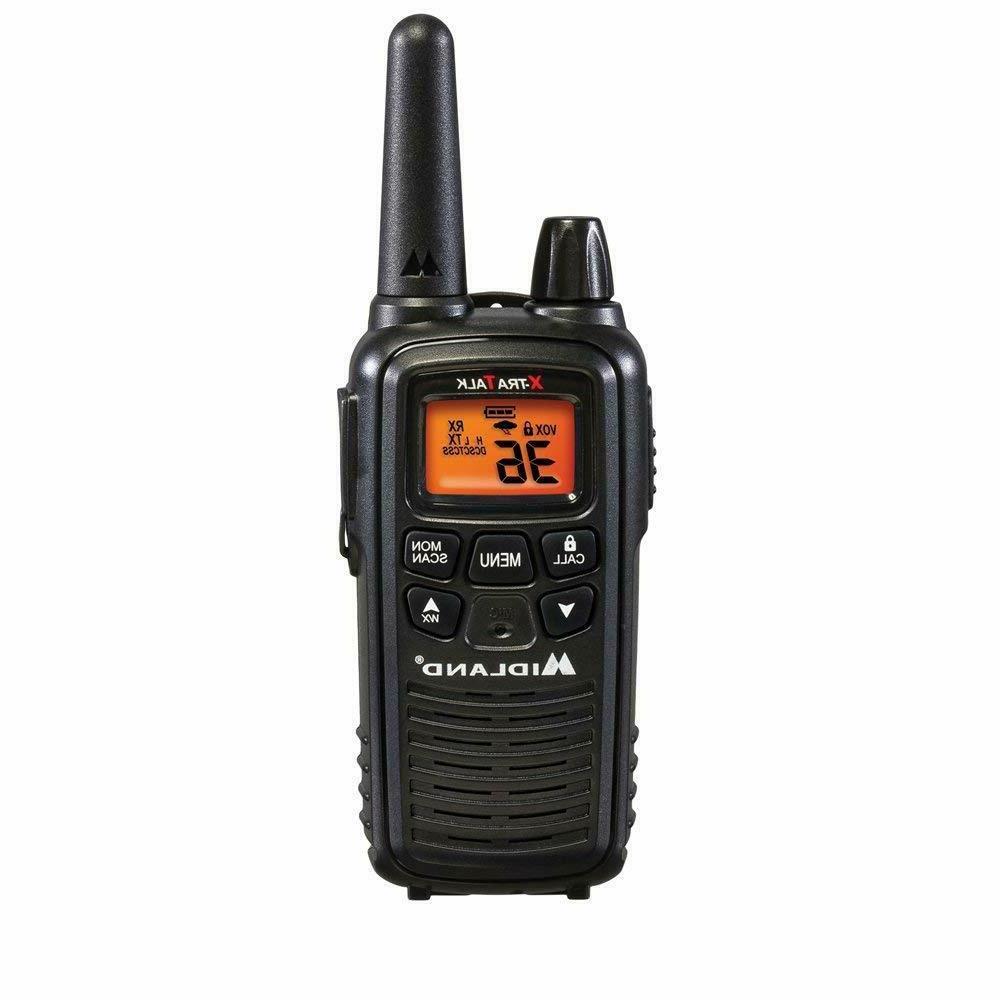 Midland Walkie 2 Radio Long Range Portable Scan