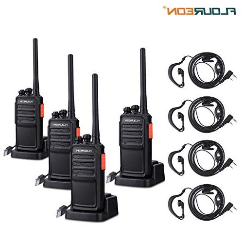 walkie talkies 2 packs rechargeable