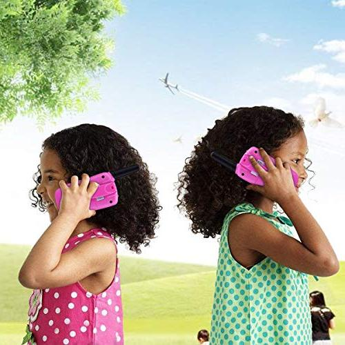 TangDirect Walkie Talkies, Channels Way Toy Backlit Miles Range Kids, Outdoor Adventures,
