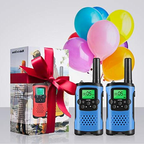 Walkie Talkies Kids, Toys for Old Radio Range Toys and Kids Walkie for Boy age 3 6 8 for Outdoor Adventure
