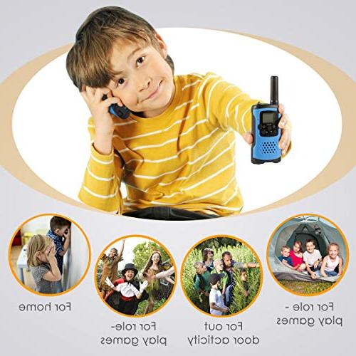 Walkie for Toys Old Boys Way Range Kids Kids Walkie Talkies, Best Gifts for and age 4 6 7 8 for Outdoor