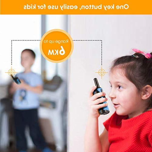 Walkie Talkies Toys for 3-12 Old Boys Way Radio Mile Range Kids Toys Kids Talkies, Best Gifts and for 6 for Adventure