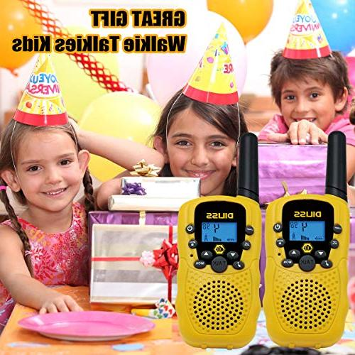 DilissToys Talkies for Talkies for Kids Mile Range 2 Radio Talkies Built in Flash Light 2