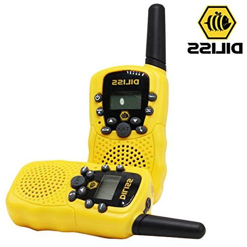 DilissToys Walkie for Kids Talkies Adults Kids 3 2 Radio Walkie Talkies Built Flash Light 2