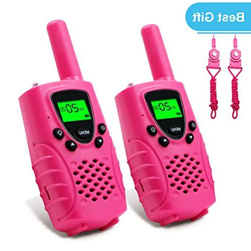 Walkies Talkies 22 UHF Miles Walkie Talkies for Boys Toys in Pink