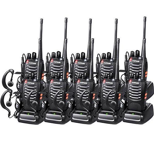 walkie talkies bf 888s radios