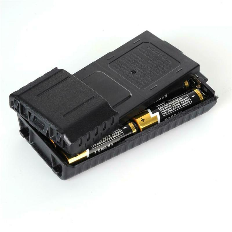 Walkie Talkies BF-UV5R Box Extended Mounting Six AA