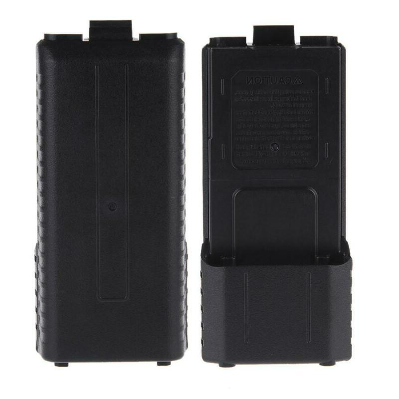 walkie talkies bf uv5r battery box extended