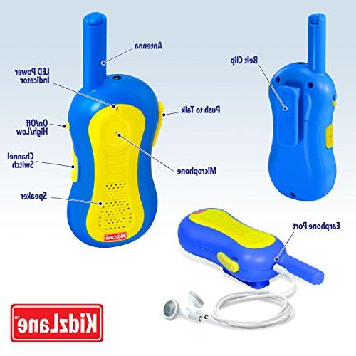 Walkie Talkies | | 3 Channels | Durable, Fun to