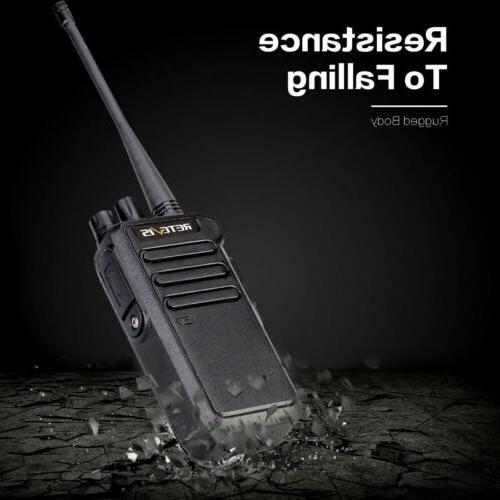 Walkie DMR Digital/Analog UHF Portable Radio 5W 1400mAh