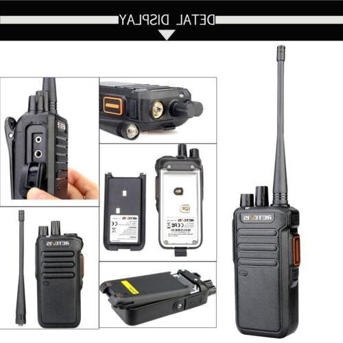 Walkie Talkies UHF 1400mAh VOX