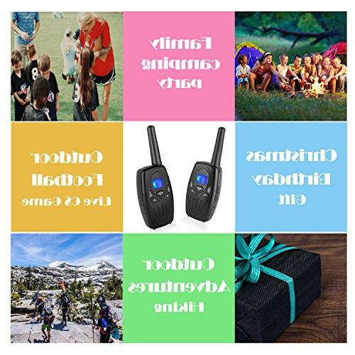 Walkie Adults, Topsung FRS Two Way Radio with Belt Held Walky Talky 22 3 for Family Home Cruise Ship Hiking