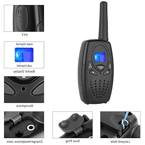 Walkie for Way with VOX Held Walky Talky 22 for Family Ship