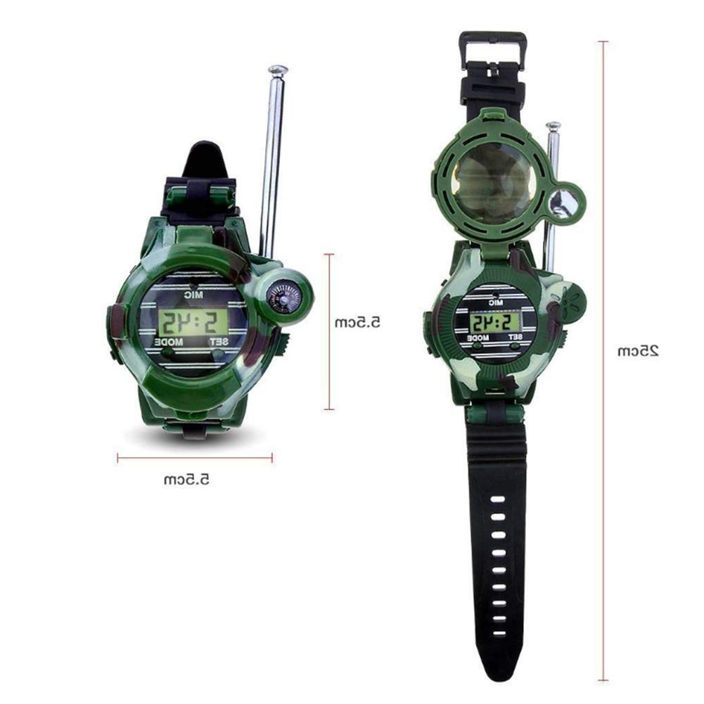 Walkie Talkies for Kids 2-Way Long Range Watch Radio Transce