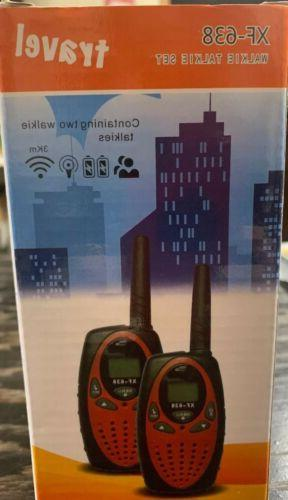 FLOUREON Walkie Talkies for Kids, Radio Children Dist...