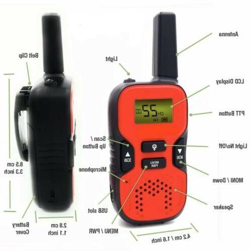 Walkie Talkies Range Radio