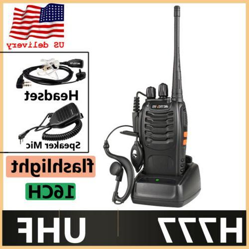 walkie talkies h777 uhf 16ch vox 2