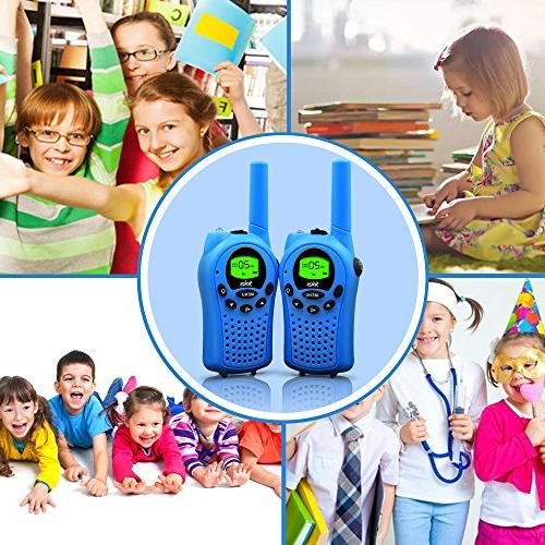 Walkie for 22 Channel 2 Radio Miles FRS/GMRS Handheld Walkie Talkies for