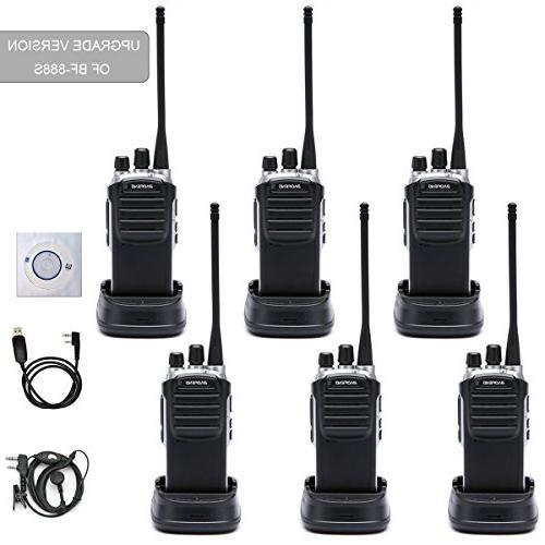 walkie talkies radio bf 888s