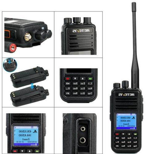 Walkie Talkies DMR Handheld UHF+VHF VOX