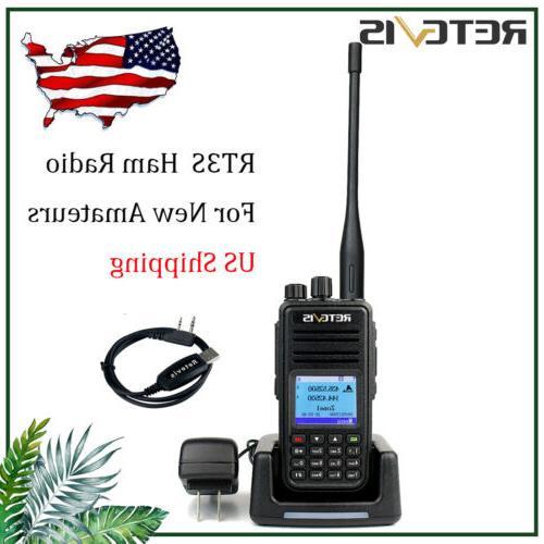 walkie talkies rt3s dmr digital analog handheld