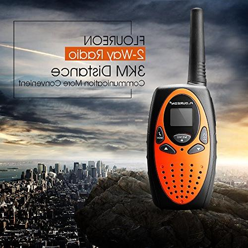 FLOUREON Talkies Way 22 Channel 3000M Long Handheld Talky