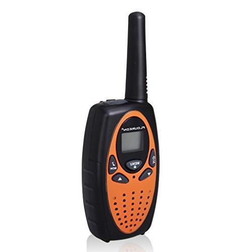 FLOUREON 4 Talkies Two 22 Channel UHF Long Range Handheld Talky